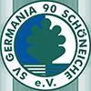 SV Germania 90 Schöneiche e.V. Sticky Logo Retina