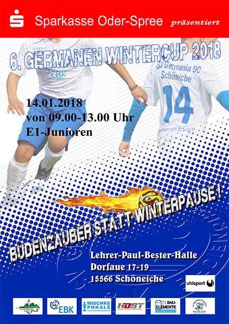 Germanen Wintercup 2018