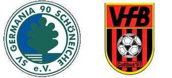 Germania Schöneiche vs. Cottbus