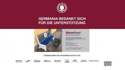 Germania bedankt sich