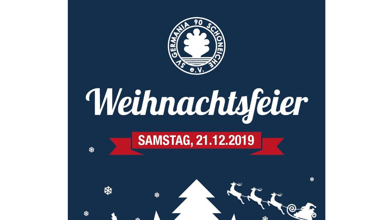 Weihnachtsfeier 2019