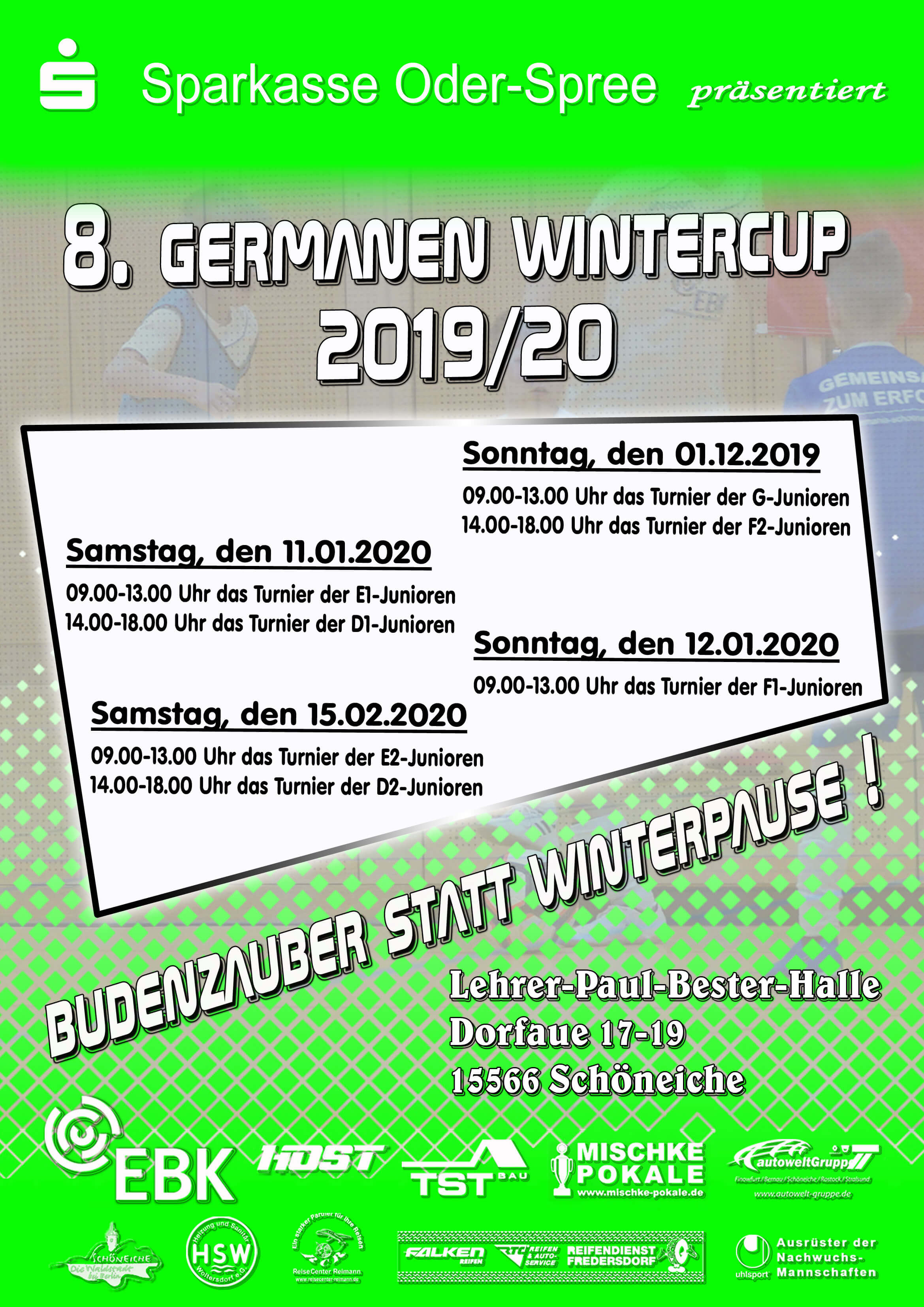 Germanen Wintercup 2019