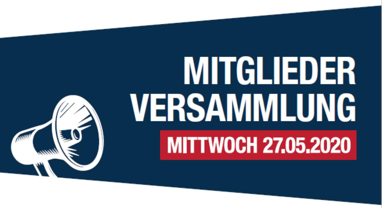 MV 2020 verschoben